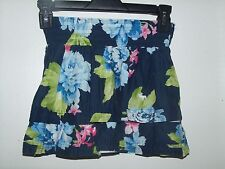 Abercrombie Girls Floral Tiered Lined Skirt M Medium