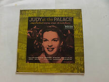 "JUDY GARLAND   JUDY AT THE PALACE   1952    10"" LP"