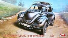 Volkswagen kdf type 230 générateur de gaz/alimenté par HOLZGAS (german MKGS) 1/35 cmk