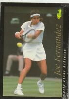 FREE SHIPPING-FAIR-1992 World Class Athletes #38 Mary Joe Fernandez MultiSport