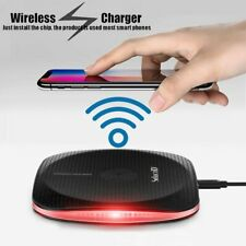 NEW Qi Wireless Fast Charger Pad For Apple iPhone 8 8 Plus X XR Xs Max 11 11 Pro