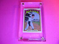 1972 Topps Baseball Semi High series 658 Steve Dunning NrMt NM