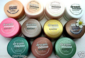 Maybelline Dream Mousse Eye Shadow & Shimmer Pots ❤ Pick one ❤  Buy 5 get 1 FREE