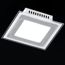 5W LED (=40W) éclairage plafonnier plat VERRE carré citron vert 5W