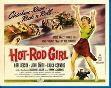 "Hot Rod Girl Poster 16""x24"""
