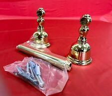 Newport Brass PVD Forever Brass Tissue Holder