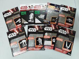 9X Bundle Star Wars - Metal Earth - 3D  Model Kit - NEW joblot Gift Fan Rare