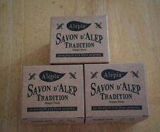 3X 190g Traditional Aleppo Olive Soap Savon d'Alep / NO Palm Oil / Made in Syria