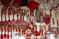 New Empire Red Kitchenaid Utensils 61 Piece Set Can Opener Measuring Cup (HERA)