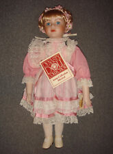 """Dynasty Doll Collection Porcelain Doll 17"""" Gretchen"""