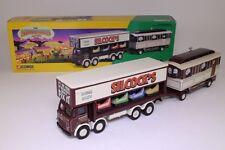 Corgi 24801; Leyland 8 Wheel Dodgem Truck & Caravan; Silcock's; Excellent Boxed