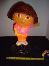 "Dora The Explorer Bobble Lamp Nightlight Night Light Collectible 11"" Tall"