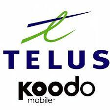 TELUS KOODO CANADA iPhone X XS XR UNLOCK CODE
