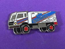pins pin car truck camion mitsubishi paris dakar michelin rothmans