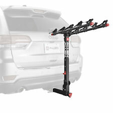 """Allen Sports 850QR Deluxe + Locking Quick Release 5-Bike Carrier for 2"""" Hitch"""