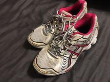 Asics Gel Platinum 4 Running Athletic Sneakers Fushia Pink & White Women's 9