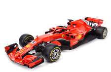 2018 Bburago 1:18 Ferrari F1 SF71H NO.7 Kimi Raikkonen Metal Model Car New