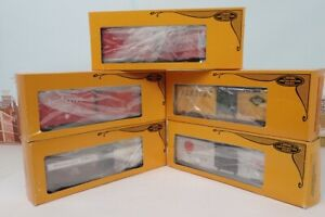 Lot Of 5 Lionel O Gauge Boxcars 6-9436 & 6-9440 & 6-9441 & 6-9732 & 6-9734