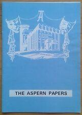 The Aspern Papers programme Birmingham Alexandra Theatre 1979 Gerald Harper