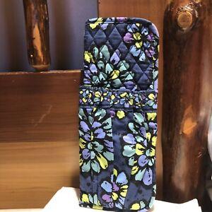 Vera Bradley Curling & Flat Iron Cover Indigo Pop