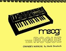 Moog Rogue Synthesizer 2-in-1 OWNER'S MANUAL and SERVICE INFORMATION MANUAL