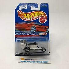 Hot Seat #648 * White * Hot Wheels 1998 * JC24