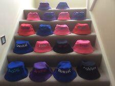 Personalised Bucket Hats