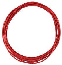 2,5m Außenhülle Schaltung Bowdenzughülle f. Schaltseil Teflon 4mm rot