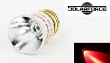 New SolarForce LC-R CREE P4 Red Led Bulb Flashlight for UltraFire, Surefire