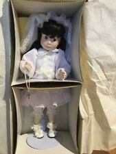 Franklin Heirloom First Communion Collector Doll MARY