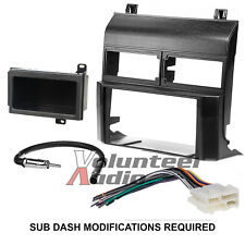 Metra 95-3000B Double Din Dash Car Radio Mount Kit Stereo Install Parts Package