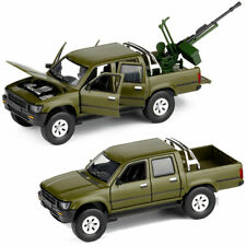 1:32 Toyota Hilux Pickup Truck w/ Weapon Model Car Diecast Toy Vehicle Kids Gift