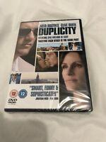 Duplicity (DVD, 2010)- NEW/SEALED- REGION 2