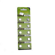 Pro 10pcs LR57 AG7 395 LR927 SR57 1.55v TIANQIU / tiantan Coin Batería Alcalina