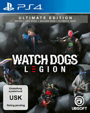 Watch Dogs Legion Ultimate Edition - PS4 (Vorbestellung) Expressversand