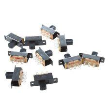 10 pezzi SS22F25-G7 2 Posizione DPDT 2P2T montaggio a pannello Mini Slitta D7Y1