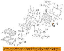 LAND ROVER OEM 10-16 LR4 Second Row Back Rear Seat-Handle HXG500290PVJ