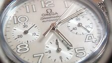 Omega Speedmaster Chronograph Automatic MOP dial, with Omega band 18/16mm Brown