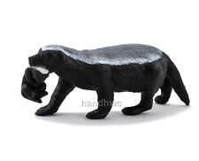 Mojo Fun 387153 Honey Badger Female & Cub Animal Toy Model Replica  NIP