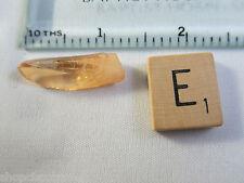 Aqua Aura Tangerine Natural Point Healing Crystal Reiki Meditation Vibrations