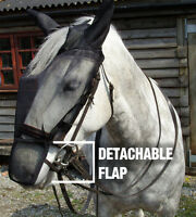 NEW GEE TAC FLY RIDING MASK FLY RUG FULL FACE  FOR HEAD SHAKERS