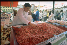 714012 Fish Market Bergen Norway A4 Photo Print