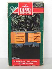 Christmas Sky Line Collection - Stock Car - 3rd -HALLMARK KEEPSAKE ORNAMENT-1992