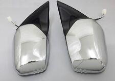 Paar Tür Spiegel Chrom Elektrisch Für Mitsubishi L200 Pick Up B40 2.5DiD 03/2006