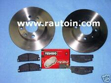 FIAT X1/9  brakes Kit DISCHI  + 4 PASTICCHE FRENO