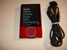 Microsoft Zune CustOm Red 128Gb. Ssd Drive.New Battery.