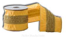 Katherine´s Collection Edles Schleifenband 1Meter Tischband Dekoband 10cm breit