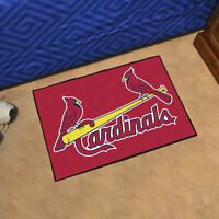 """MLB - St. Louis Cardinals Durable Starter Mat - 19"""" X 30"""""""