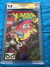 Uncanny X-Men #248 - Marvel - CGC SS 9.8 NM/MT -Signed by Claremont, 1st Jim Lee