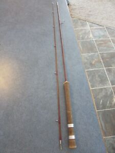 VINTAGE ORVIS MANCHESTER IMPREGNATED 2 PIECE BAMBOO SPINNING/FLY ROD